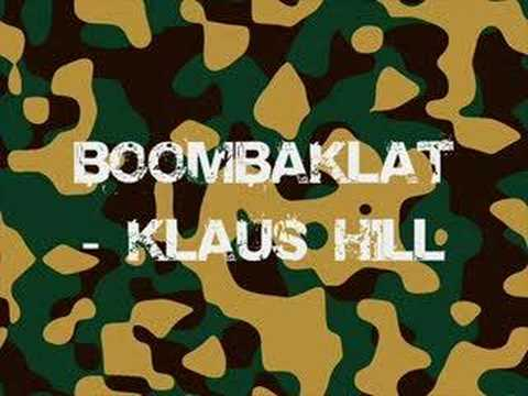 Boombaklat – Klaus Hill