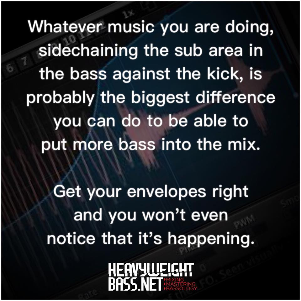A Quick Tip – Don't Forget To Sidechain !