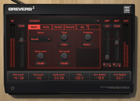 One of my personal favourite reverbs, Breverb2...