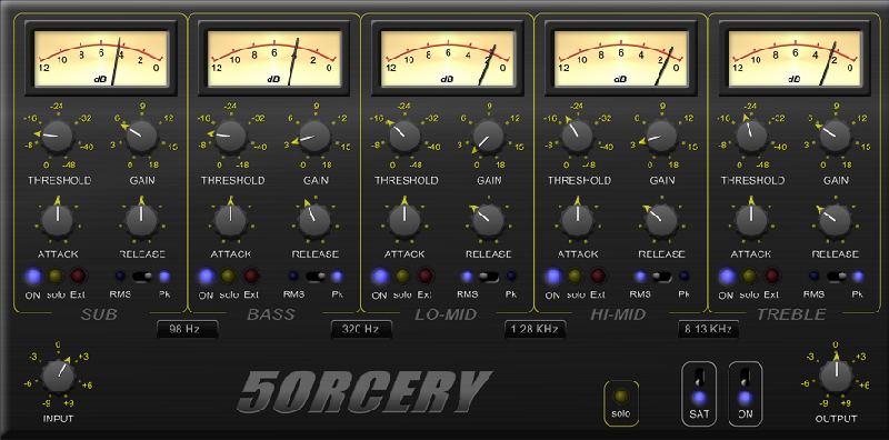 5ORCERY , A Different Approach – Free Multiband Compressor For Windows