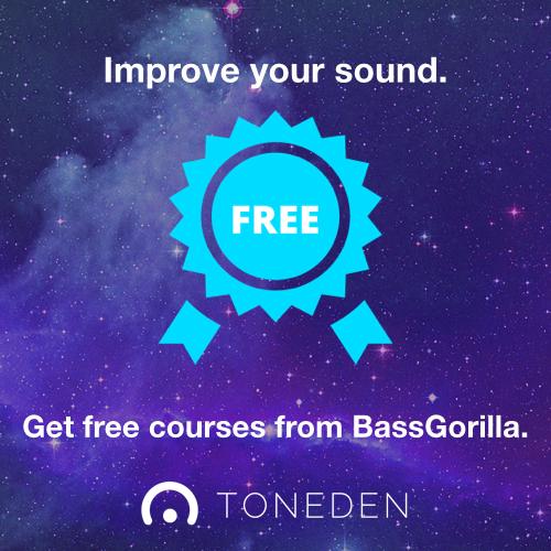 Get Free Courses From BassGorilla @ TONEDEN