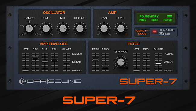 Super Sexy! – Super-7, Free Roland JP8000/8080 Supersaw VST