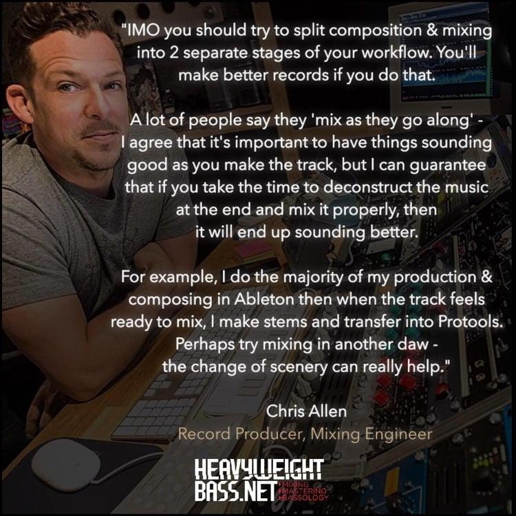A Quick Tip - Chris Allen, Mix Engineer