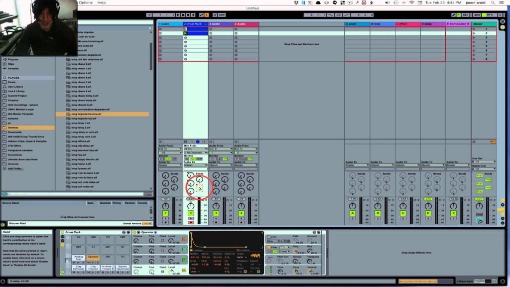 writing a song in ableton live