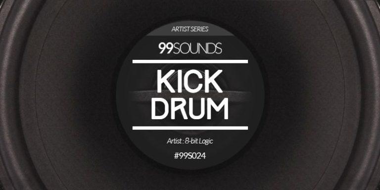 Kick Drum – 120 Key Labelled Electronic Kick Drum Samples by 8-bit Logic