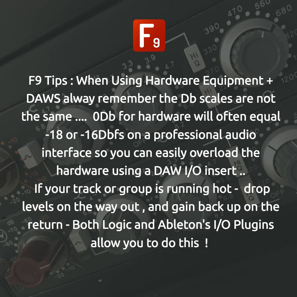 F9 Tip of The Day