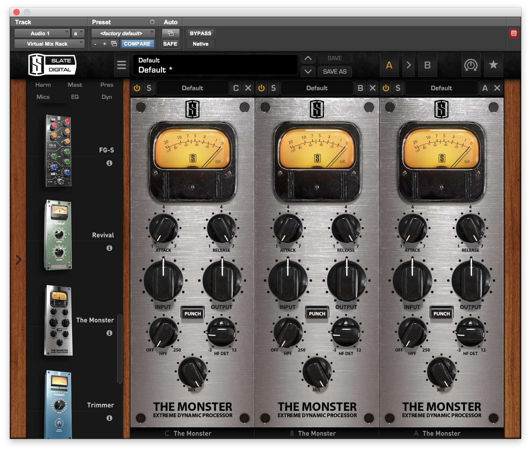 FREE Slate Digital Plugin – The Monster | Heavyweightbass net