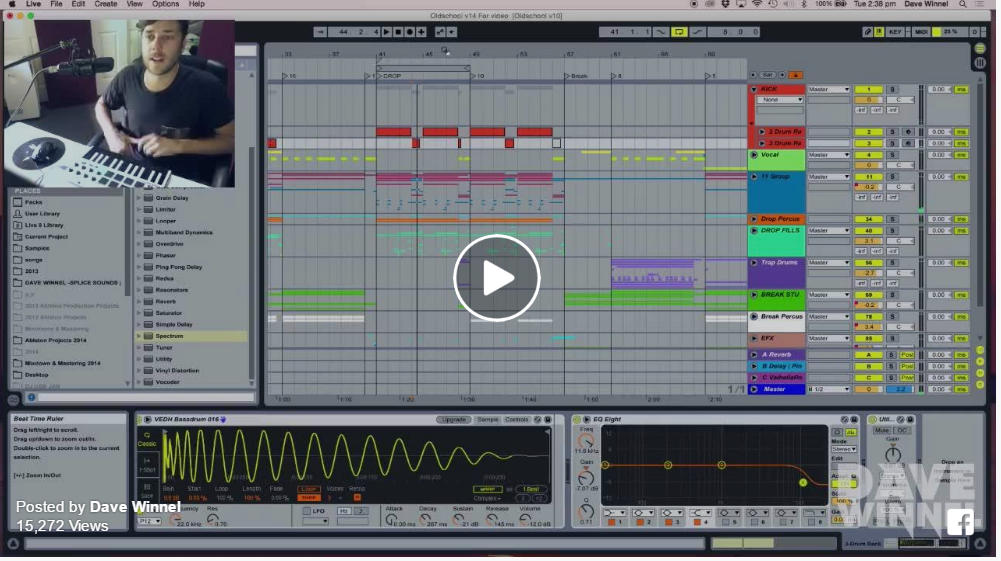 Track Walk-Through – Dave Winnel's Old School On Axtone
