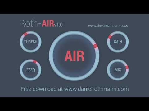 ROTH AIR – Free mixing tool for adding AIR!