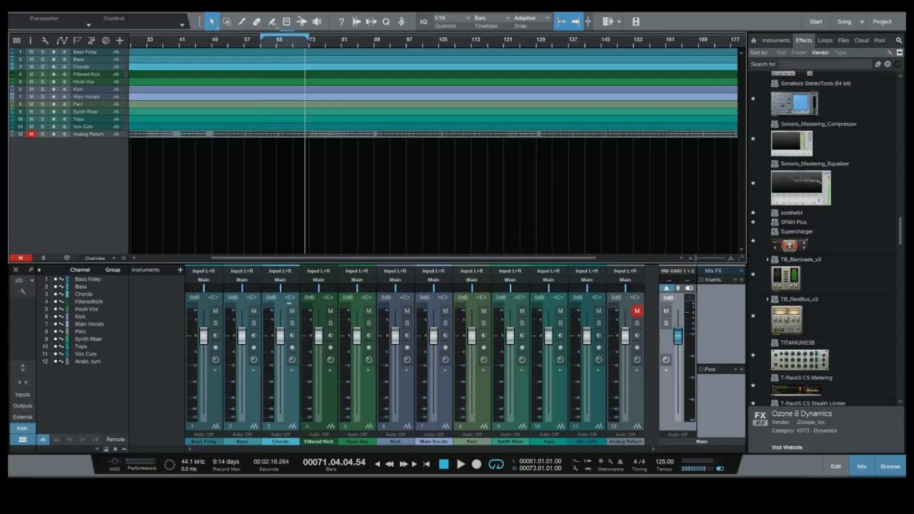 Live Stream 20.11.17 – M/S Techniques