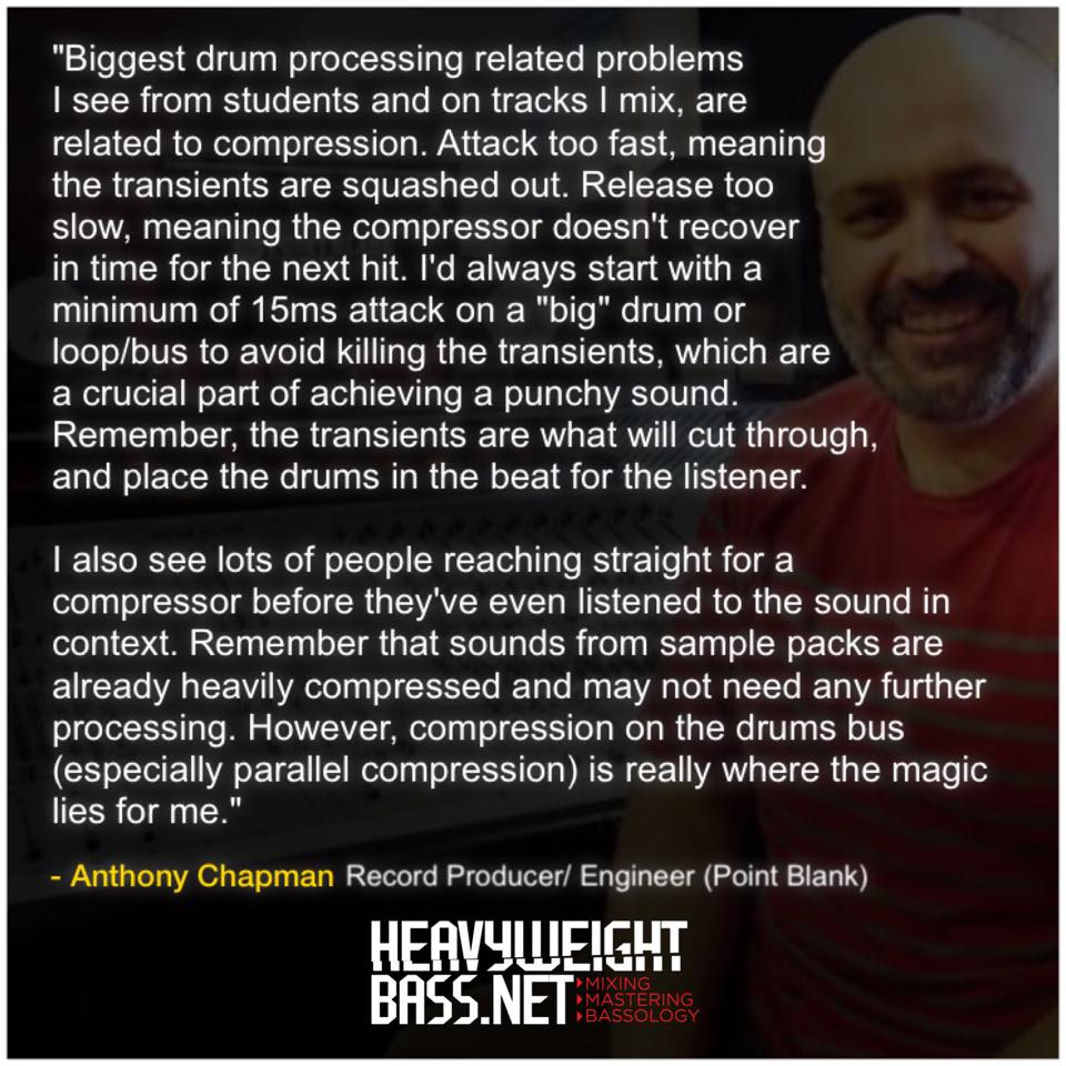 A Quick Tip – Anthony Chapman From Point Blank Music School