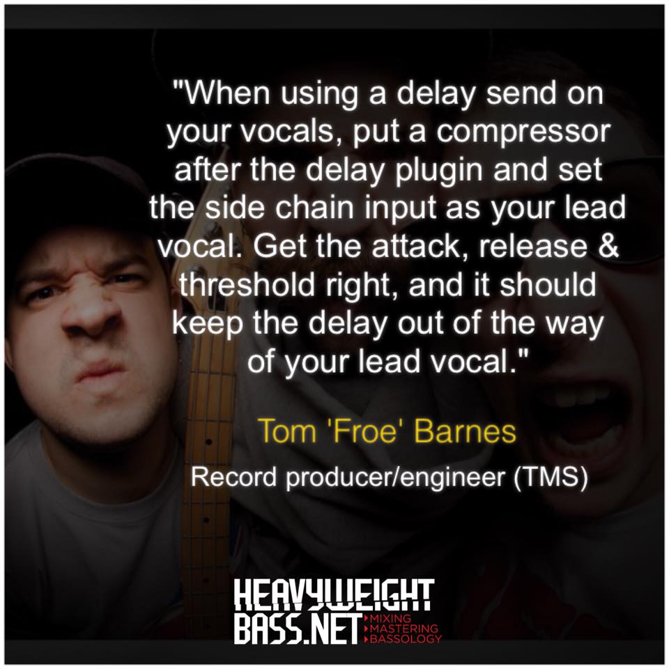 A Quick Tip -Tom 'Froe' Barnes From TMS