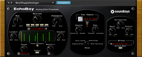 SoundToys Echoboy - a plugin i could not live without.
