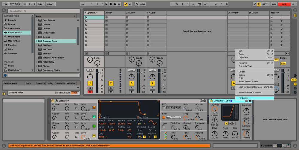 A Quick Ableton Tip – Number 3