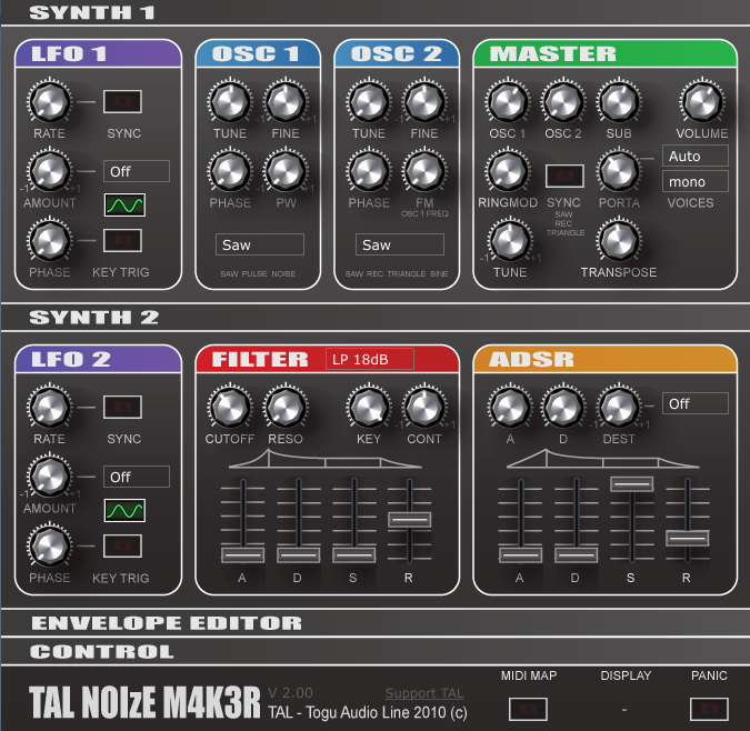 Shut Up!!! – TAL Noisemaker Free synth