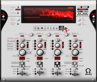 With it's multi-band distortion, compression, EQ and filter,Ohmicide packs a lot of punch