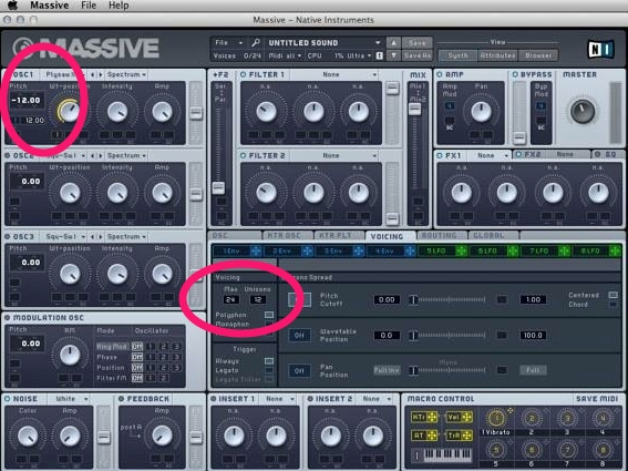 Part 3 – Intro to SUBTRACTIVE Synthesis