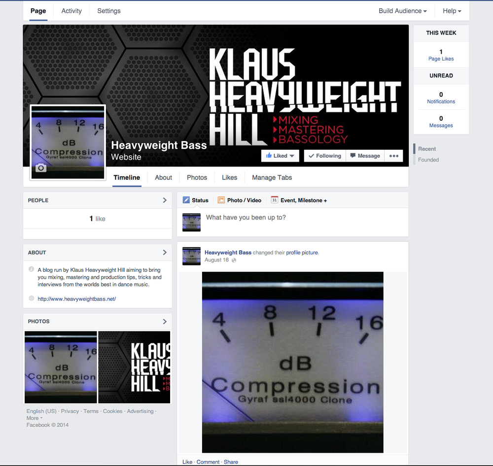 New Facebook page for Heavyweight Bass