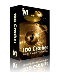 100 Processed Crashes For Electronic Music Producers Free Until 30th March