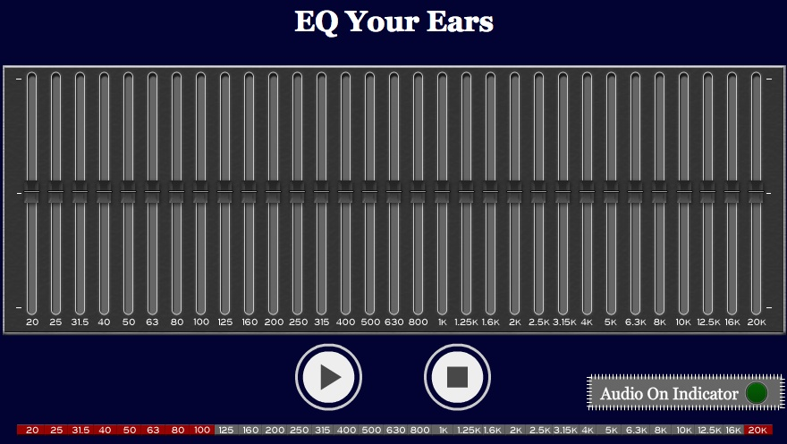 Improving Your Ears – Some Tools To Help You Identify Specific Frequencies