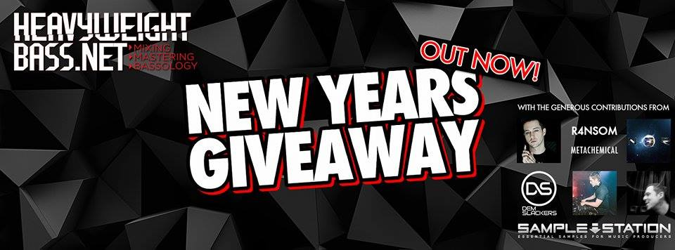 Heavyweight Bass New Years Giveaway!