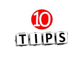 PINNA's 10 tips