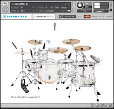 DrumMic'a by Sennheiser – 9GB of free breathtaking acoustic drum samples!