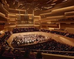 A modern concert hall