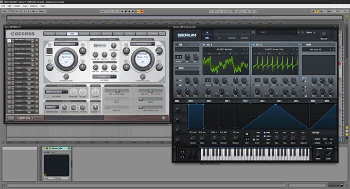 Free Virus TI Wavetables for Serum from Akira Complex