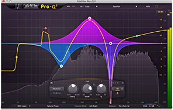 FabFilter's Pro-Q, now even better with the recently launched Version 2