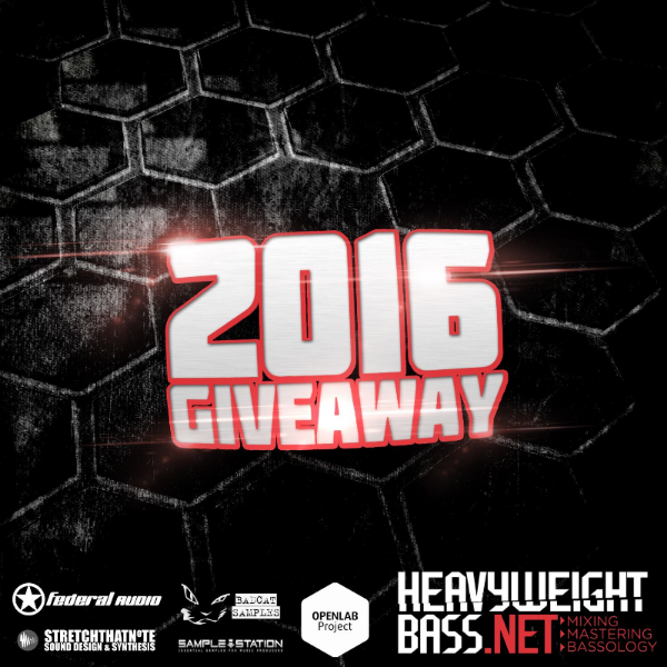 Heavyweight Bass 2016 New Year Giveaway – Part 1