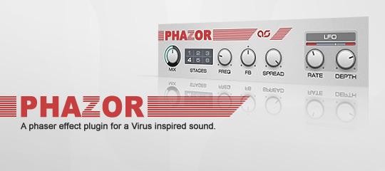 Adam Szabo's PHAZOR – FREE Virus Phaser Emulation Plugin