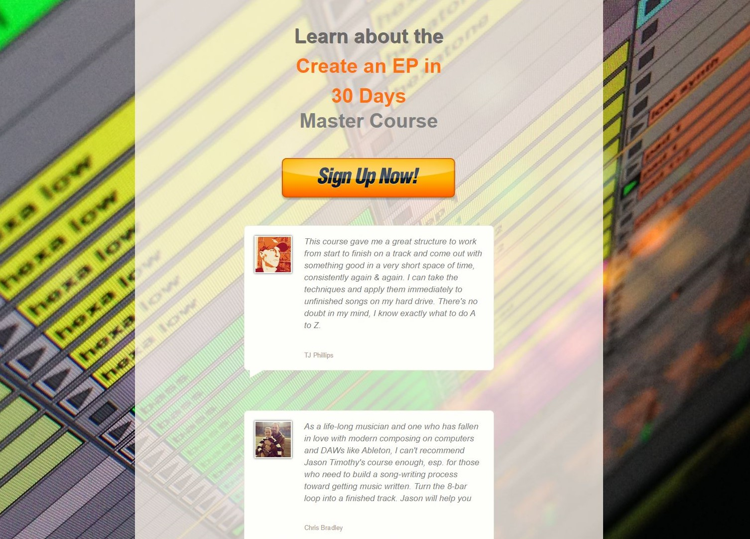 Create an EP in 30 Days Course Starts On April 1st – Sign Up For The $1 Trial And Get  A Copy Of Music Habits: The Mental Game of Electronic Music Production For FREE!!