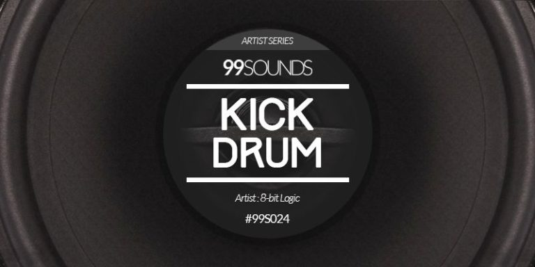 Kick Drum – 120 Key Labelled Electronic Kick Drum Samples by 8-bit Logic
