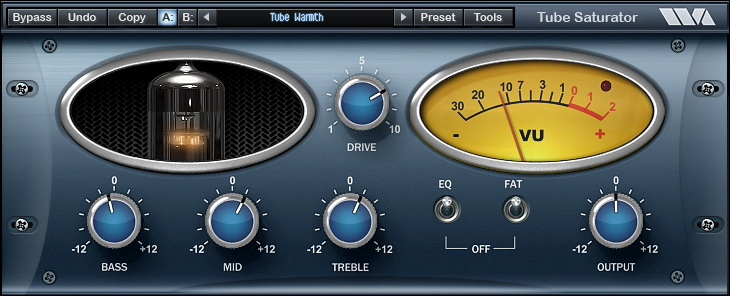 Waves Arts Tube Saturator Vintage – FREE Tube Preamp Simulator