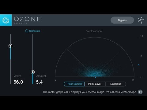 Ozone Imager – Free Stereo Imaging Plug-in From iZotope