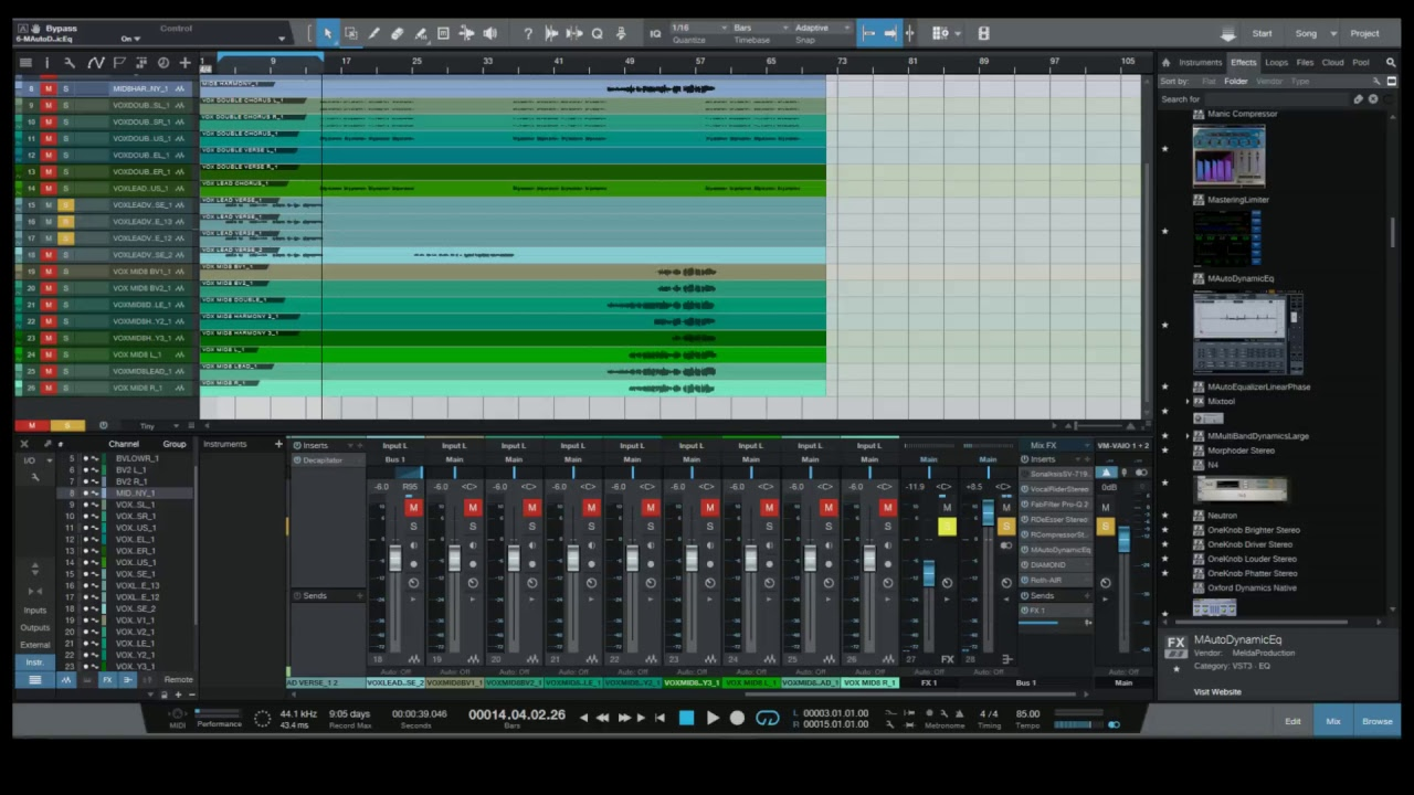 Live Stream 9.10.17 – Vocal Processing