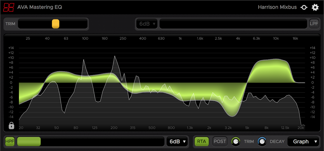 Harrison's AVA Mastering EQ Cross Platform Plugin Absolutely FREE!!