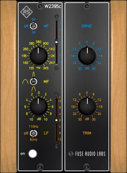 RS-W2395C – FREE NEO CLASSIC BAXANDALL EQ FROM FUSE AUDIO LABS